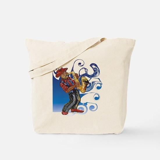 Saxman T-Shirt Tote Bag