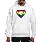 Super Gay! Outlined Hooded Sweatshirt