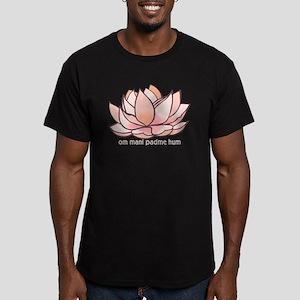 Om Mani Padme Hum Men's Fitted T-Shirt (dark)