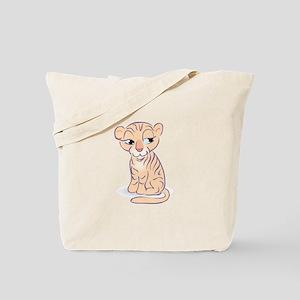 Tiger Three Tote Bag