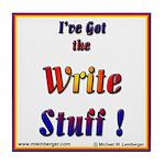 Write Stuff! Tile Coaster