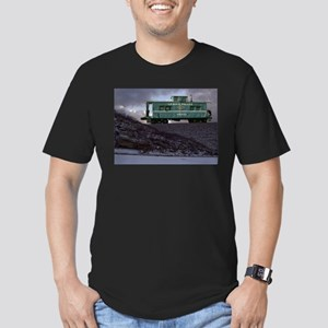 Lehigh Valley Caboose Men's Fitted T-Shirt (dark)