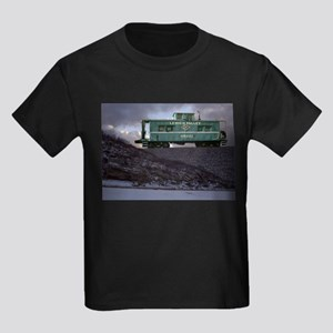 Lehigh Valley Caboose Kids Dark T-Shirt