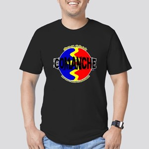 Comanche Men's Fitted T-Shirt (dark)