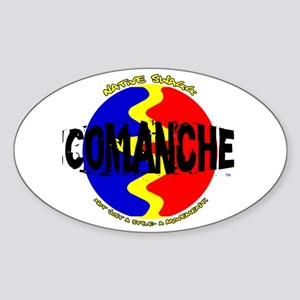 Comanche Oval Sticker