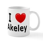 I Love Akeley Mug