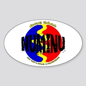 Numinu (Comanche) Oval Sticker