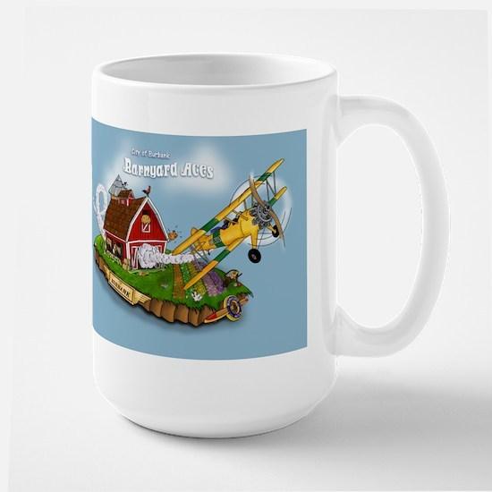 Barnyard Aces Large Mug
