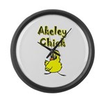 Akeley Chick Large Wall Clock