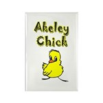 Akeley Chick Rectangle Magnet (10 pack)