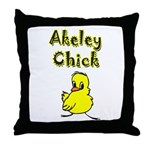 Akeley Chick Throw Pillow