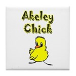 Akeley Chick Tile Coaster