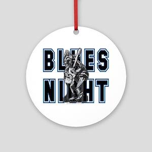 Blues Night Ornament (Round)