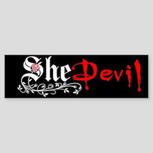 She Devil Bumper Sticker