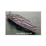 USS NIMITZ Rectangle Magnet (100 pack)