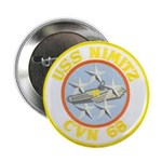 "USS NIMITZ 2.25"" Button (10 pack)"