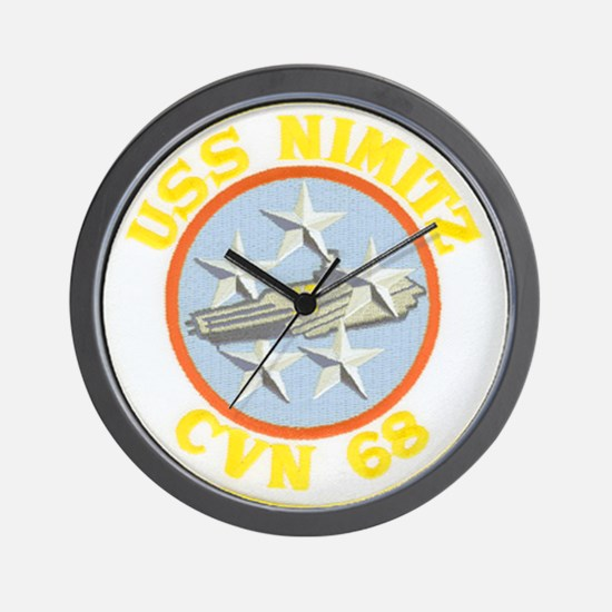 USS NIMITZ Wall Clock