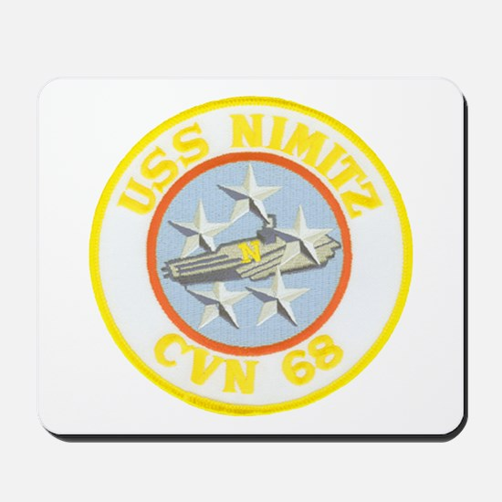 USS NIMITZ Mousepad