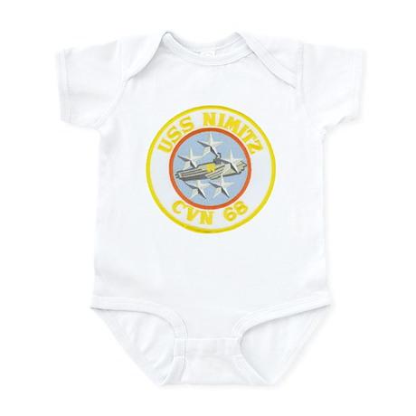 USS NIMITZ Infant Bodysuit