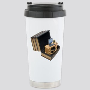 Thinking out of the box Stainless Steel Travel Mug