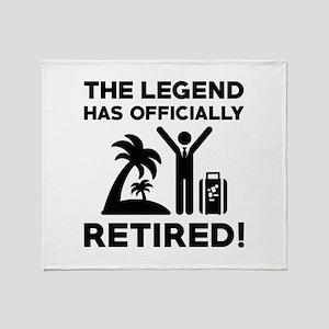 Officially Retired Stadium Blanket