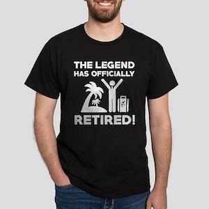 Officially Retired Dark T-Shirt