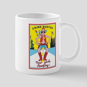 CRIME BUSTER (New York Cowboy Mug