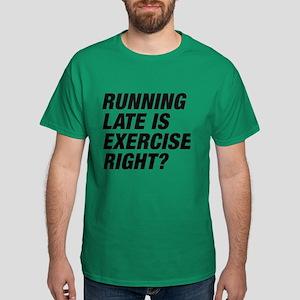 Running Late Dark T-Shirt