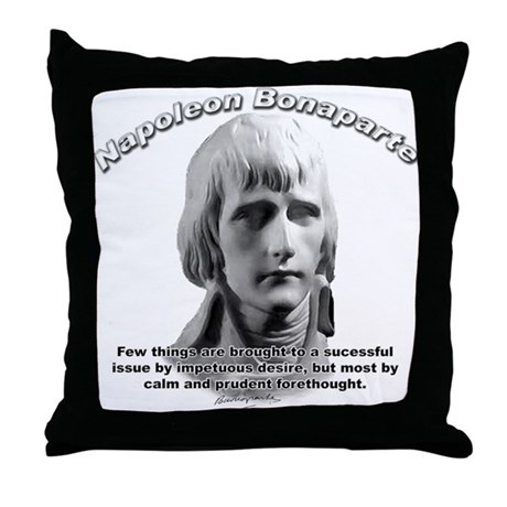 Napoleon Bonaparte 01 Throw Pillow