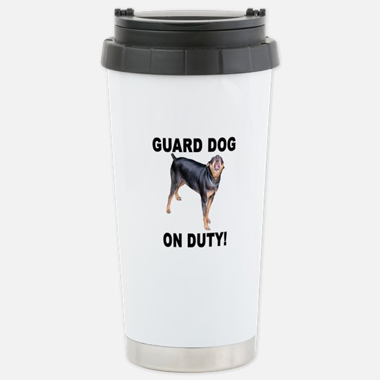 Helaine's GUARD DOG Stainless Steel Travel Mug