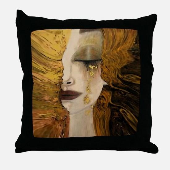 Cute Klimt Throw Pillow