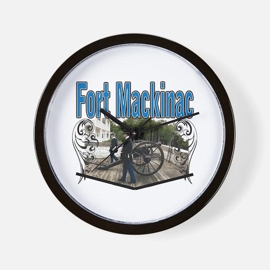 FORT MACKINAC08 Wall Clock
