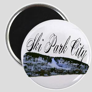 Ski Park City Magnet
