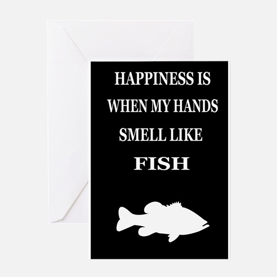 HAPPINESS IS WHEN... Greeting Card