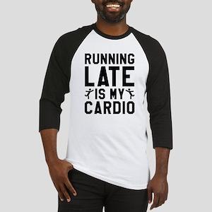 Running Late Baseball Jersey