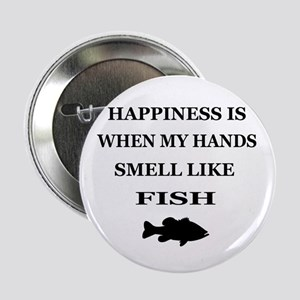 """HAPPINESS IS WHEN... 2.25"""" Button"""