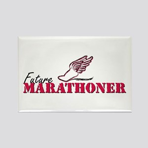 Future Marathoner wf Rectangle Magnet