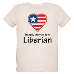 Happily Married Liberian T-Shirt