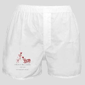 No Matter What (PINK) Boxer Shorts
