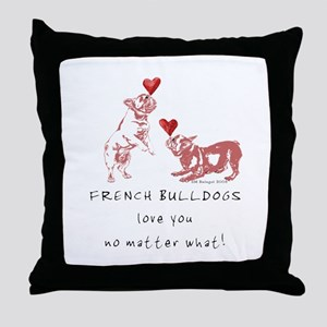No Matter What (PINK) Throw Pillow