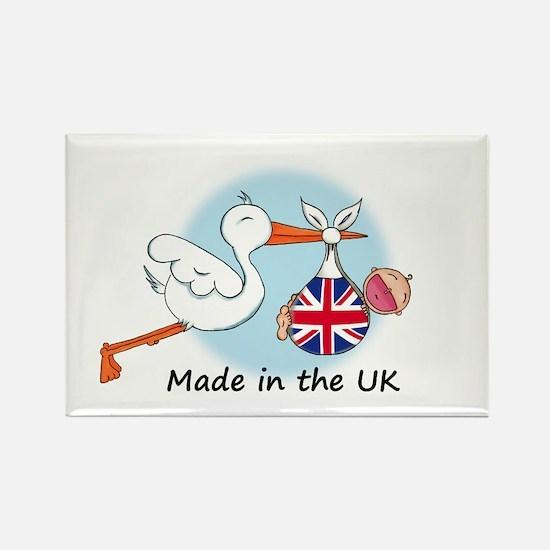 Stork Baby UK Rectangle Magnet