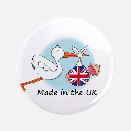 "Stork Baby UK 3.5"" Button"
