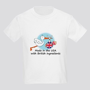 Stork Baby UK USA Kids Light T-Shirt