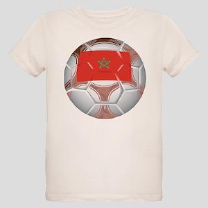 Morocco Soccer Organic Kids T-Shirt