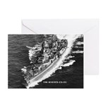 USS AUGUSTA Greeting Cards (Pk of 10)