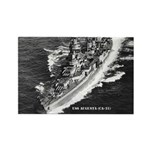 USS AUGUSTA Rectangle Magnet (100 pack)