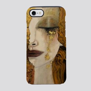 Woman with a Golden Tear iPhone 7 Tough Case
