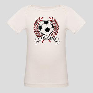 Poland Soccer Organic Baby T-Shirt