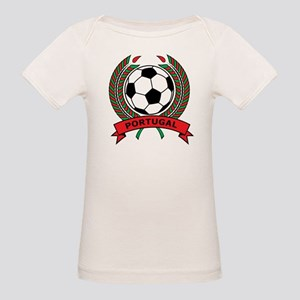 Soccer Portugal Organic Baby T-Shirt