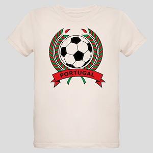 Soccer Portugal Organic Kids T-Shirt